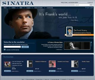 Frank  Sinatra.com image