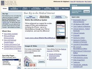 MerckMedicus - Your Key to the Medical Internet image