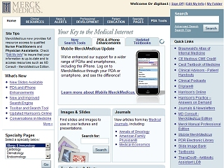 MerckMedicus - Your Key to the Medical Internet image