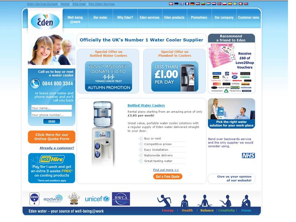 Eden Springs UK image