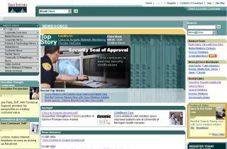 News@Cisco: Innovating Cisco's Corporate Press Room image