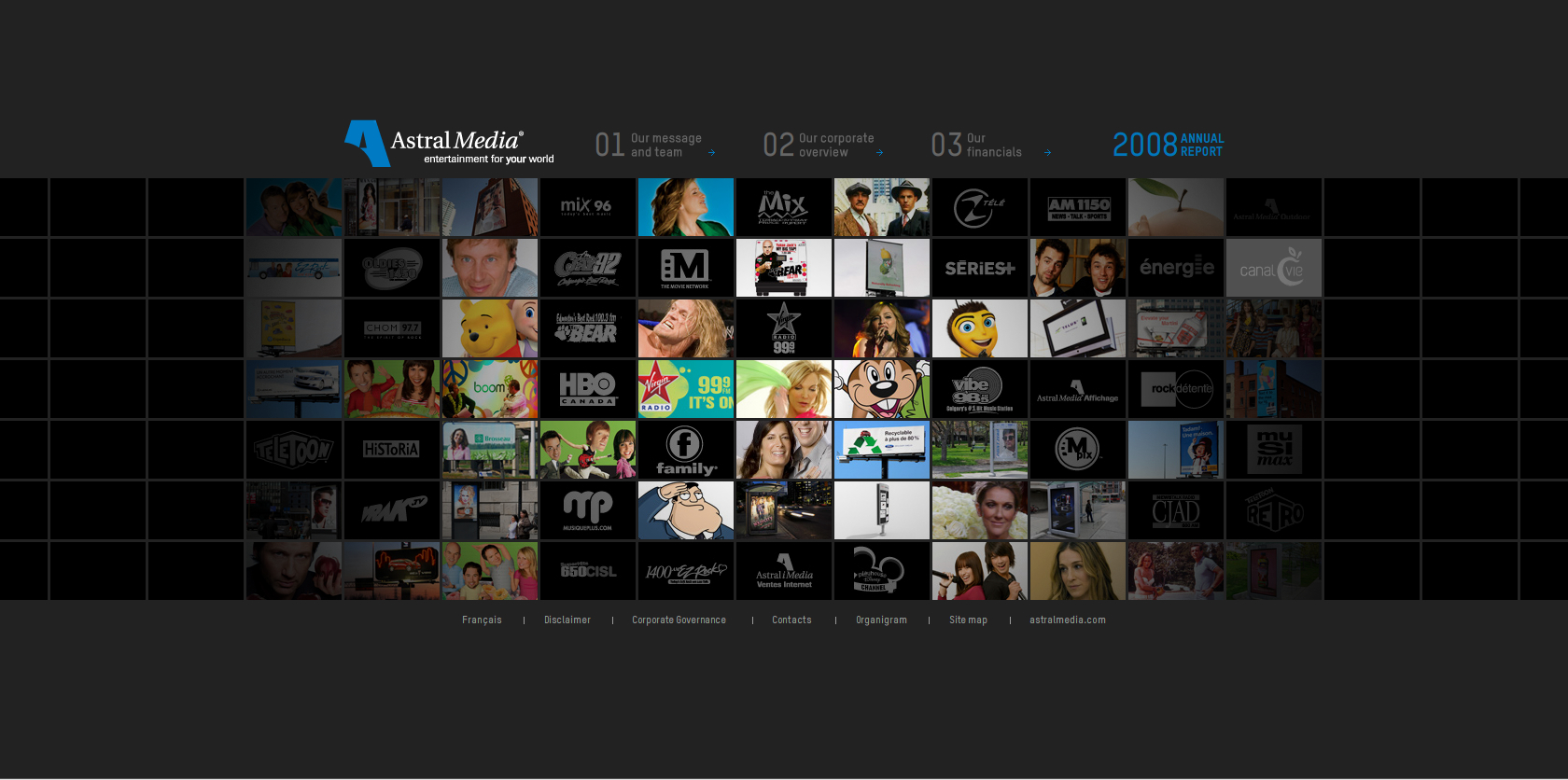 2008 Astral Media Annual Report image
