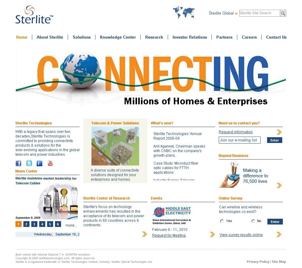 Sterlite Technologies image