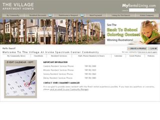 irvine company apartment communities wins 2009 webaward