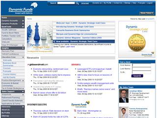 Dynamic Advisor Site image
