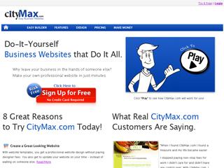 CityMax.com Easy Business Websites image