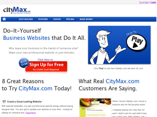 CityMax.com Easy Business Websites image