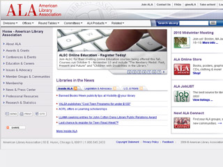 American Library Association image