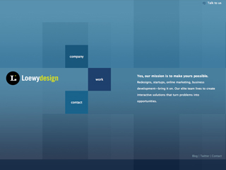 Loewy Design Website Redesign image