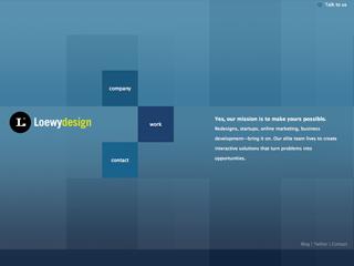 Loewy Design Website Redesign image