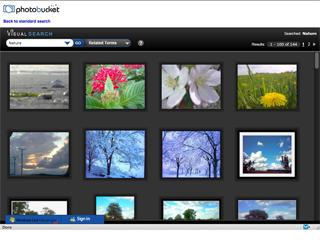 Photobucket/Microsoft Photosharing Application image