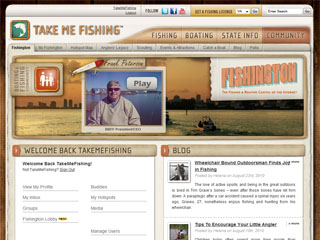 Fishington - The Fishing & Boating Capital of the Internet image