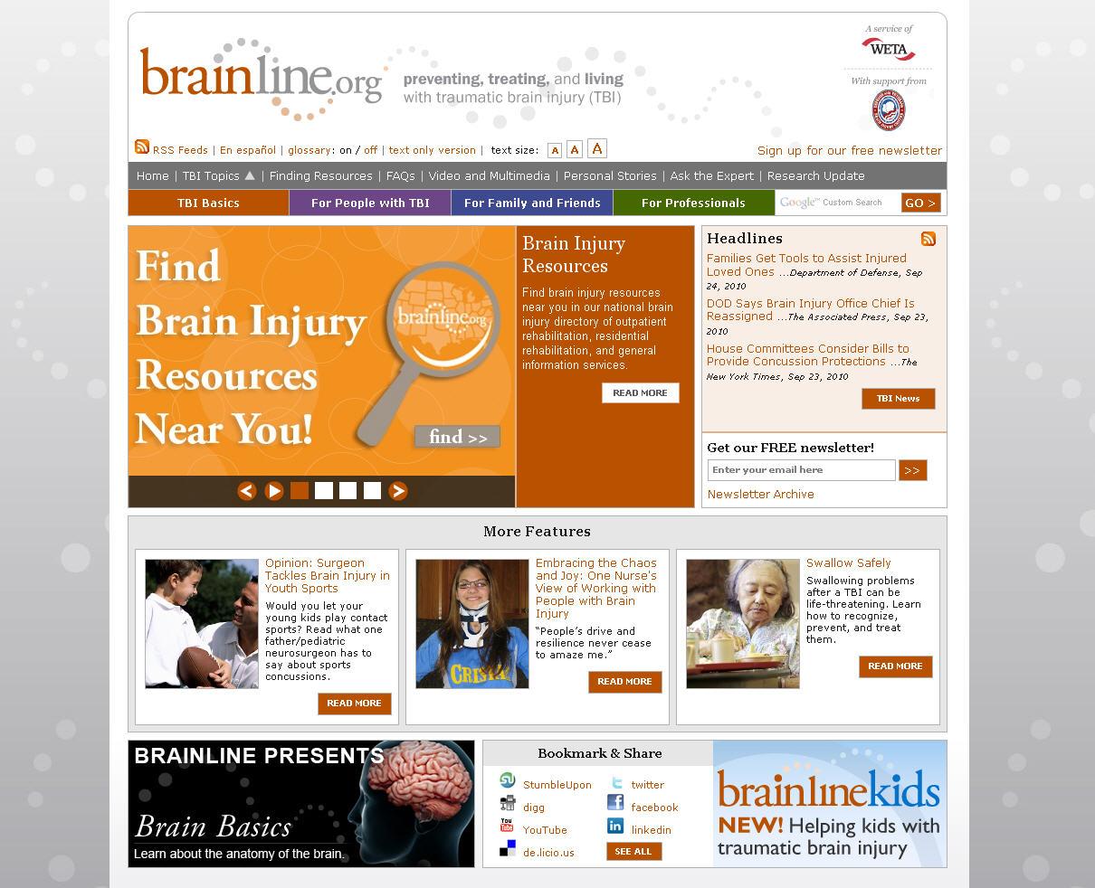 BrainLine.org image