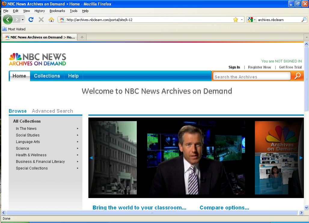 NBC News Archives On Demand image