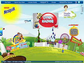 Nesquik TR Web Site image