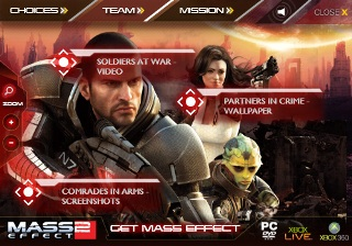 Mass Effect 2 Silverlight Campaign image