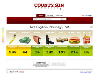 County Sin Rankings image