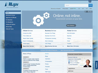 Rhode Island Government Online  image