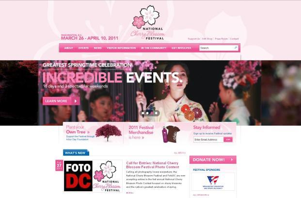 National Cherry Blossom Festival image
