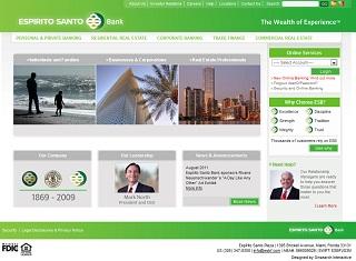 Espirito Santo Bank Corporate Portal image