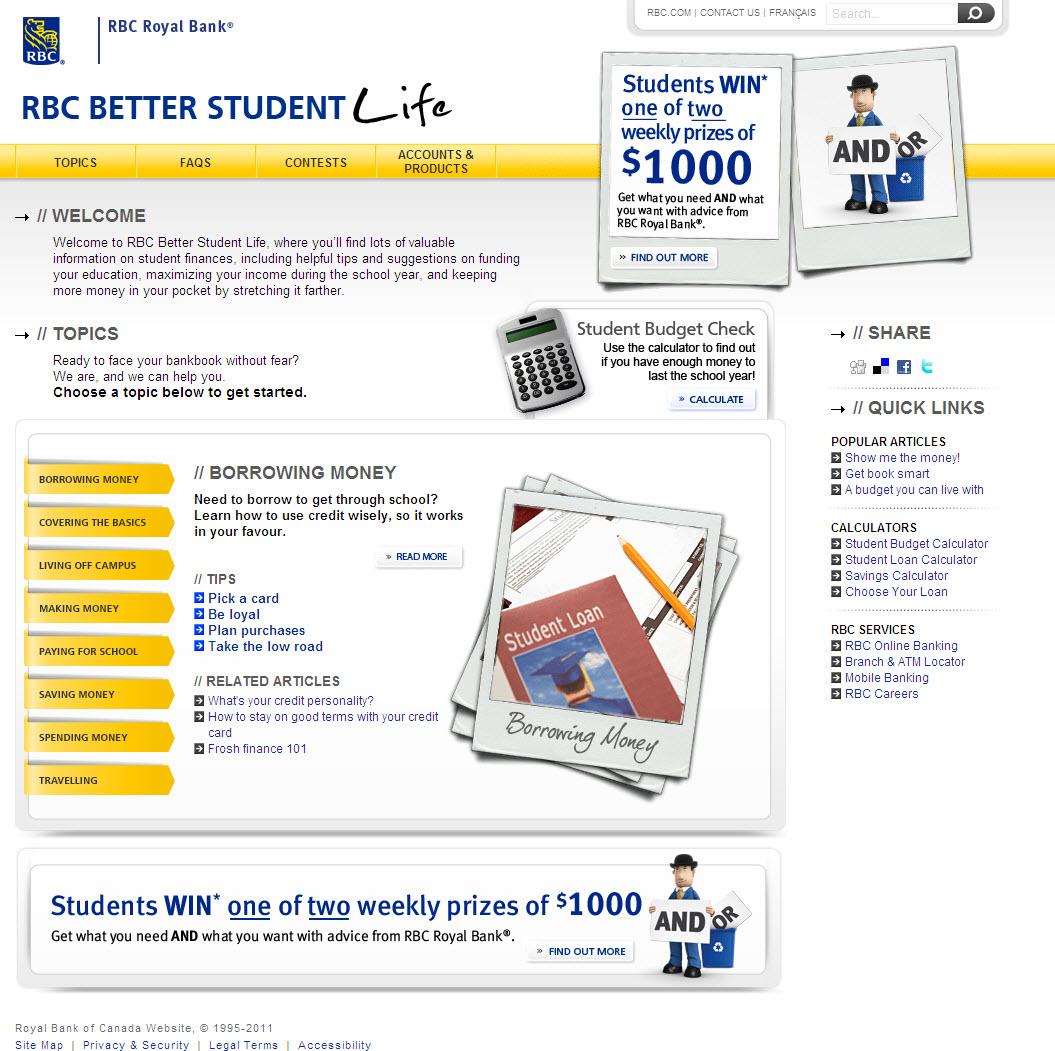 RBC Better Student Life image