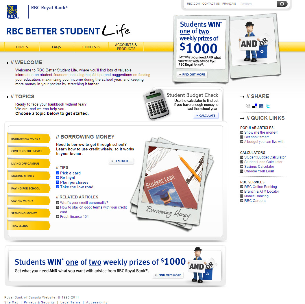 RBC Better Student Life image