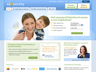 Sittercity.com Product Transformation image