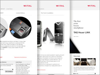 Wital Group Corporate Website image