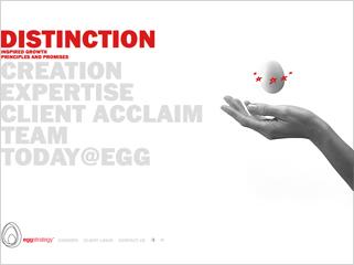 Egg Strategy website image