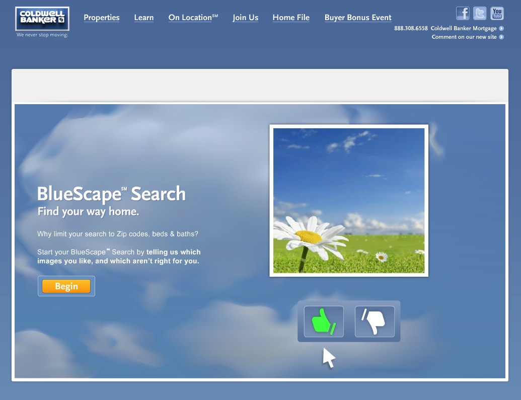 Coldwell Banker BlueScape Search image