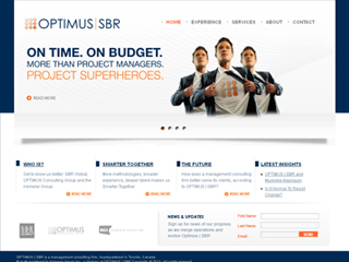 OPTIMUS | SBR Corporate Website image