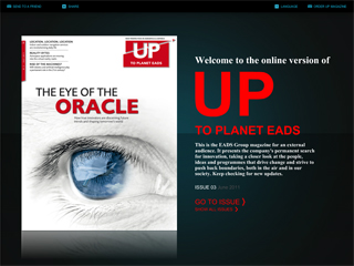 UP magazine image