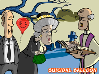 Suicidal Balloon (Animated Series) image