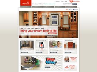 Merillat Cabinetry Website image