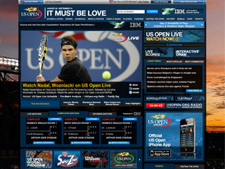 The Official Website of the 2010 US Open image