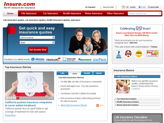 Insure.com: The number one resource for insurance image