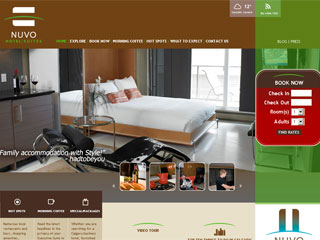 Nuvo Hotel Suites Website image