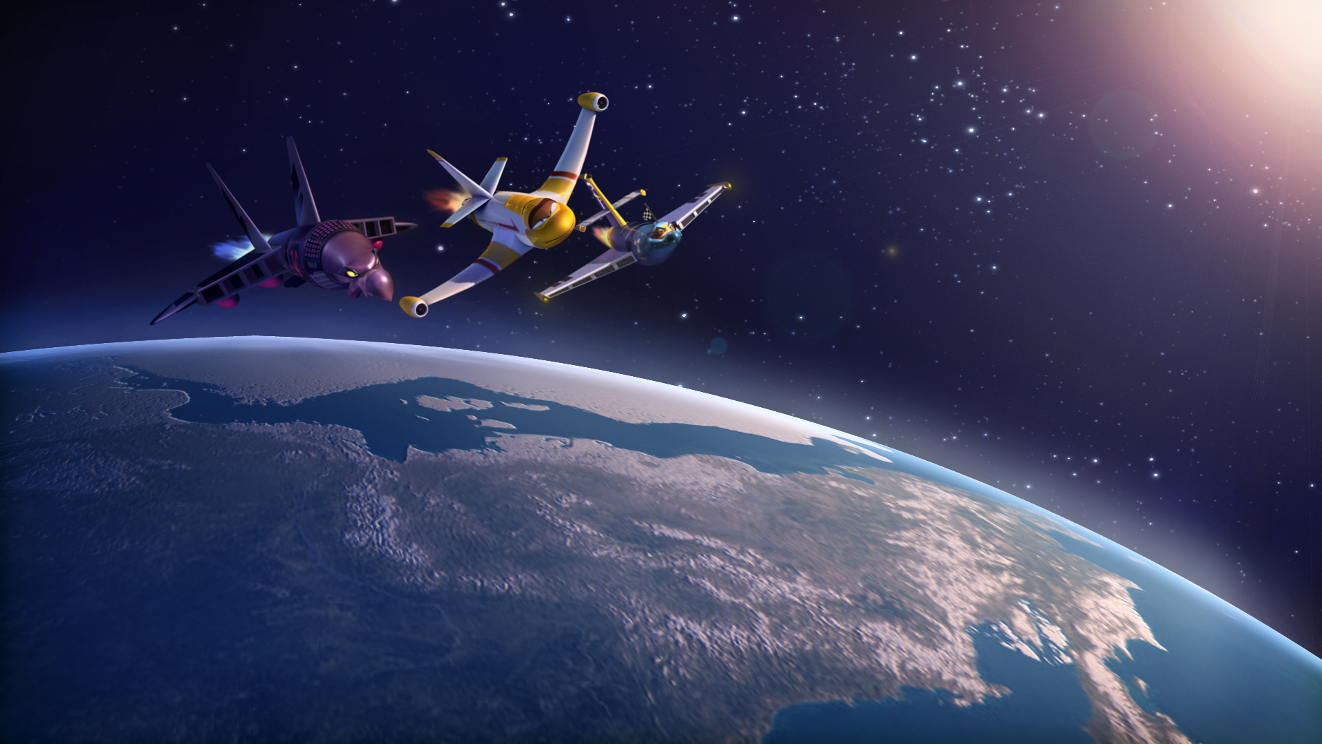 Space Race image