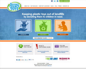Second Chance Toys Website image