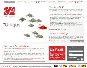 Red Advertising image