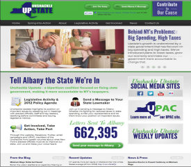 Unshackle Upstate Website Re-Launch image