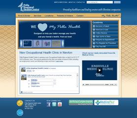 Pella Regional Health Center Website image