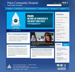 Palos Community Hospital Website image