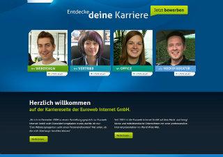 Euroweb Career Website image