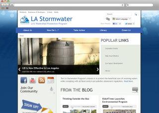 LA Stormwater Program Website image