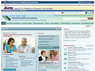 Health Care Innovations Exchange image