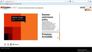 PressiousArvanitidis website image