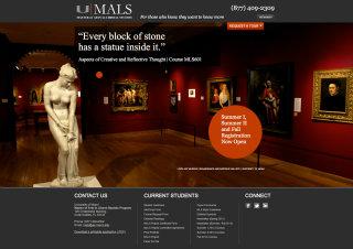 University of Miami MALS Website image