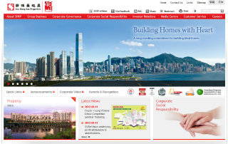Sun Hung Kai Properties Corporate Website image