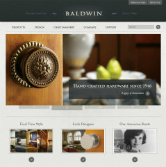 Baldwin Hardware Website image